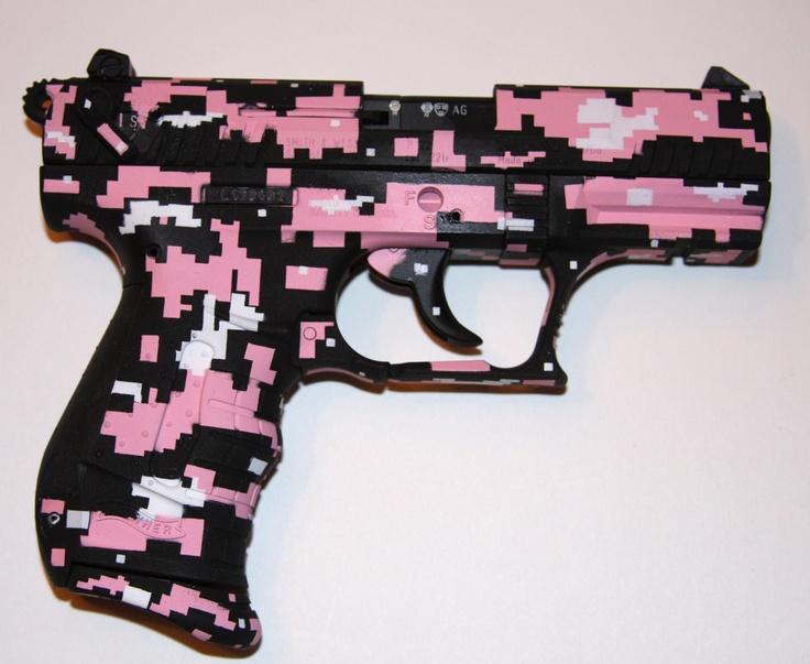 Pistol Camo Pink
