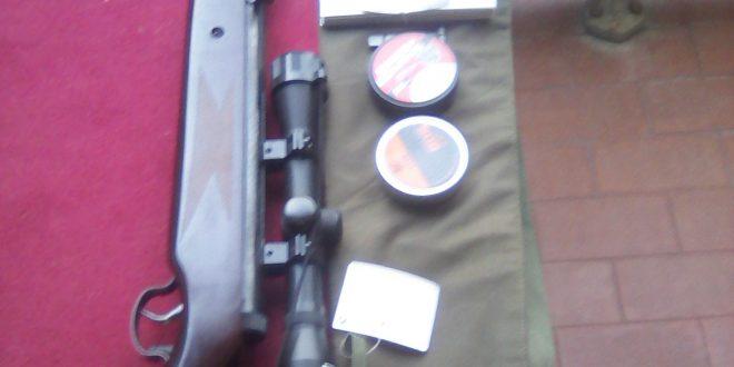 Carabine à air comprimé – 100 €